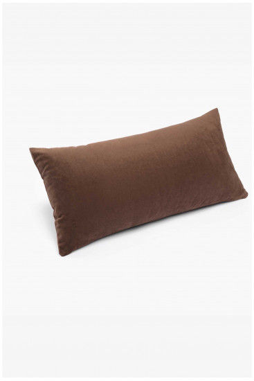Cushion cover VELVET soft brown