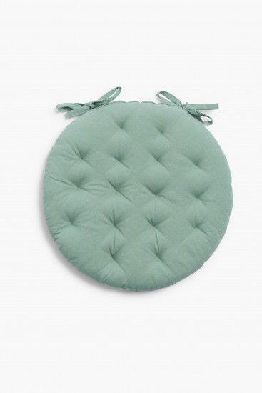 Galette de chaise Tosa Turquoise