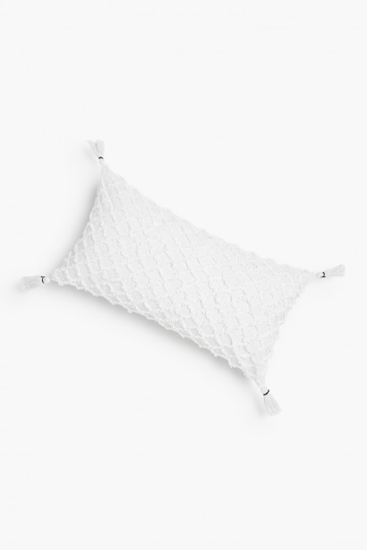 Cushion cover Royal White