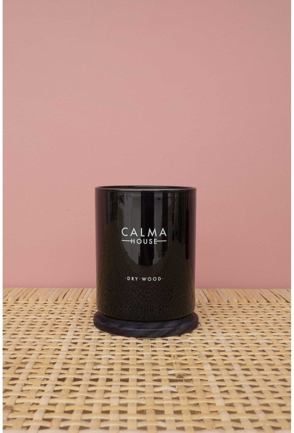 Candle with fragance Luna Dry wood  Calma House