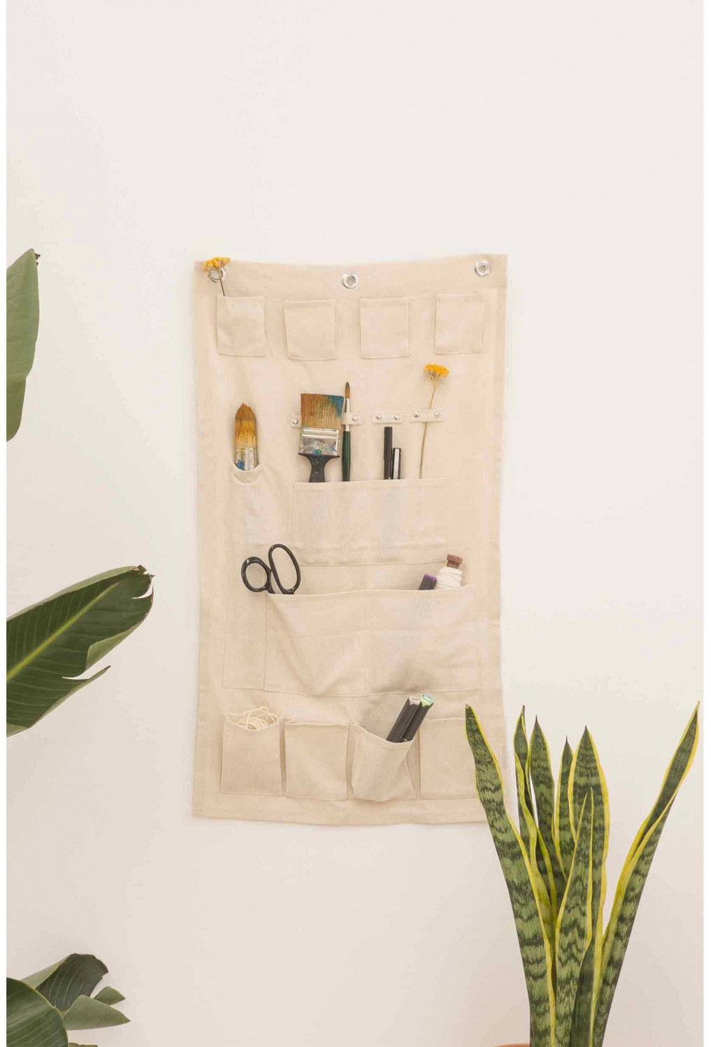 Wall organizer PONGO off-white