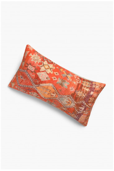Cushion cover VELUR mustard
