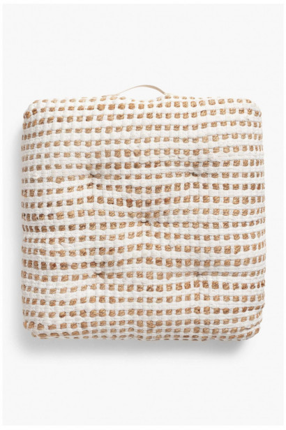 Floor cushion Fiesta White