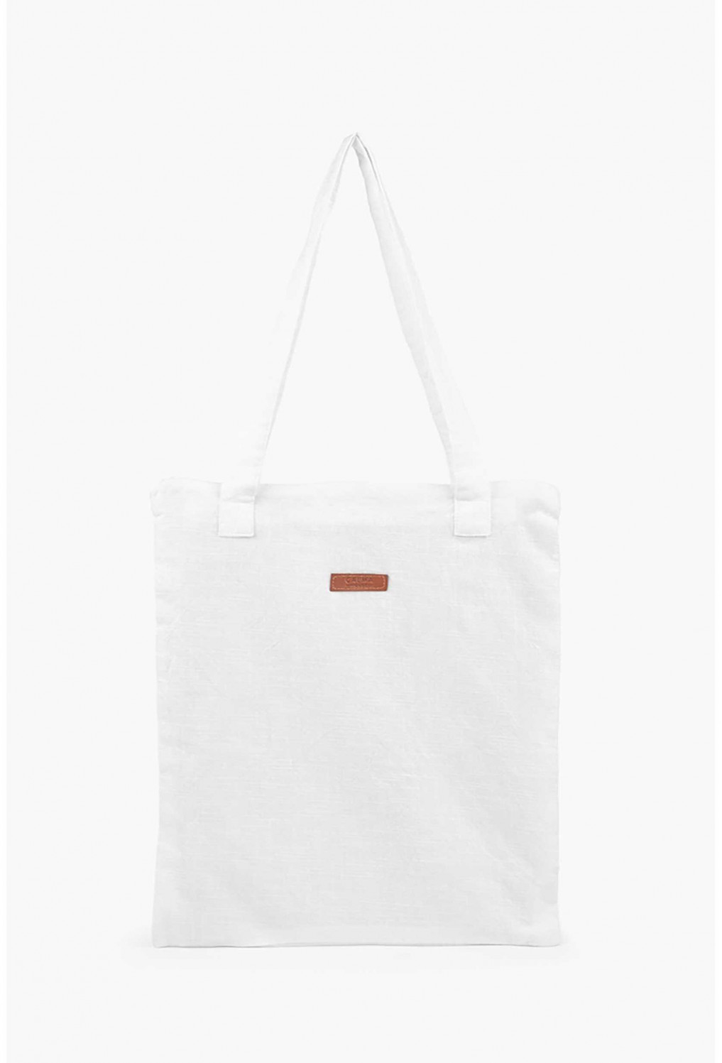 Tote bag GAVEMA white