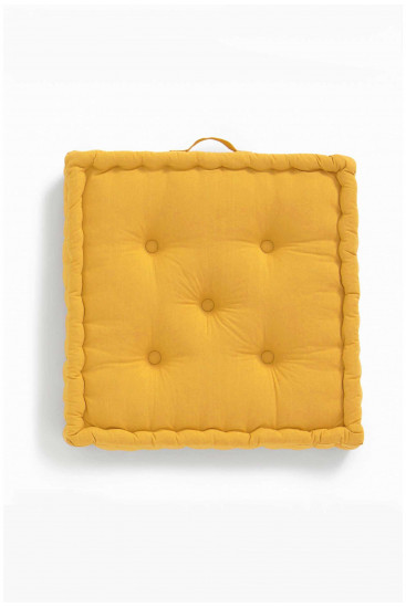 Cushion cover TEDY mustard