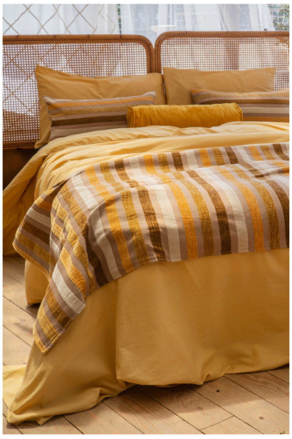 Bed runner GOBI brown