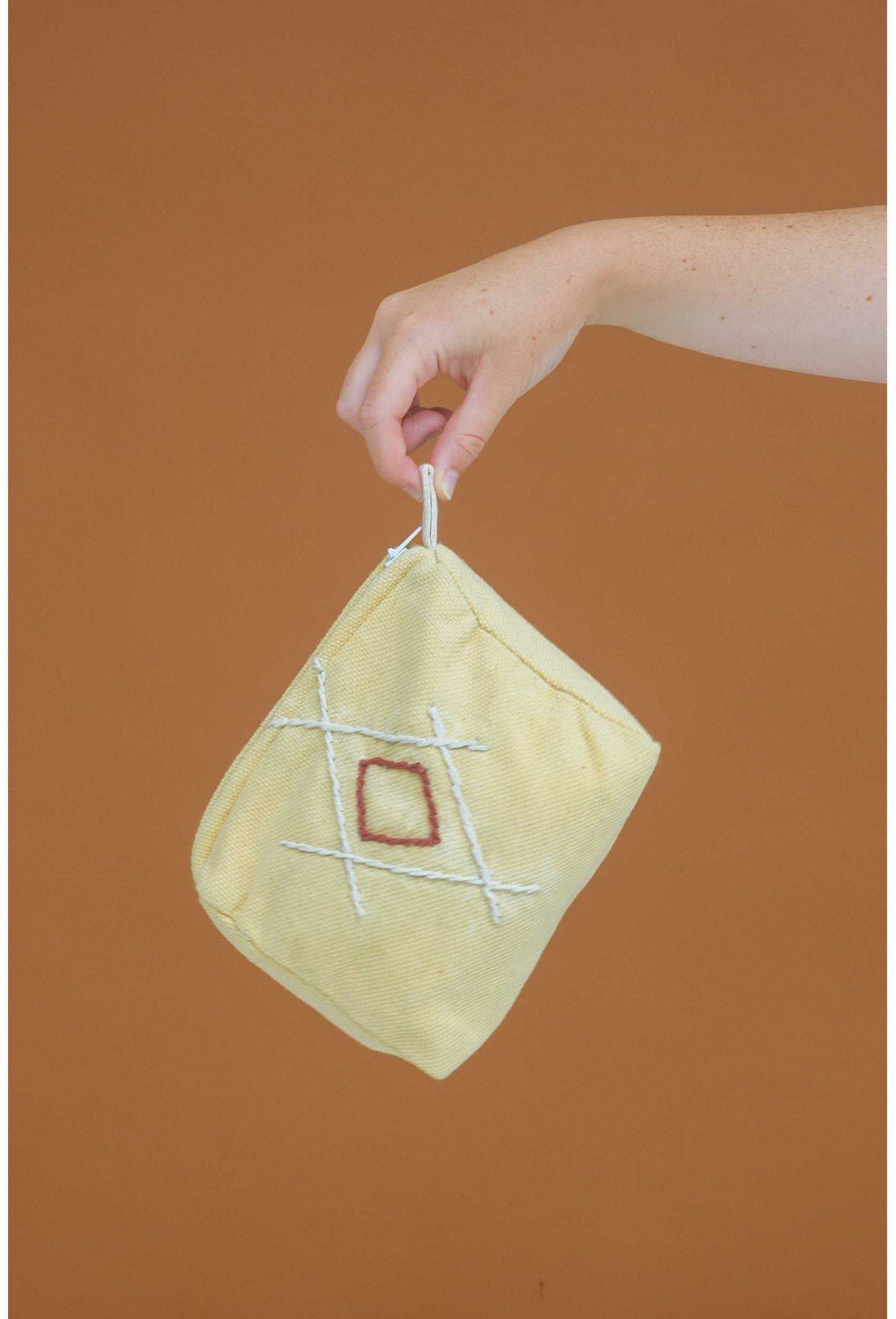 Toilet bag RIAD mustard